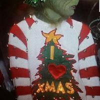 Grinch Sweater From Jim Carey Movie Ugly Xmas Sweater Ideas And I
