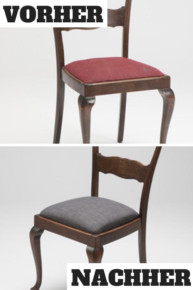 Stuhl Polstern Stuhl Polstern Mobel Polstern Diy Stuhle Renovieren