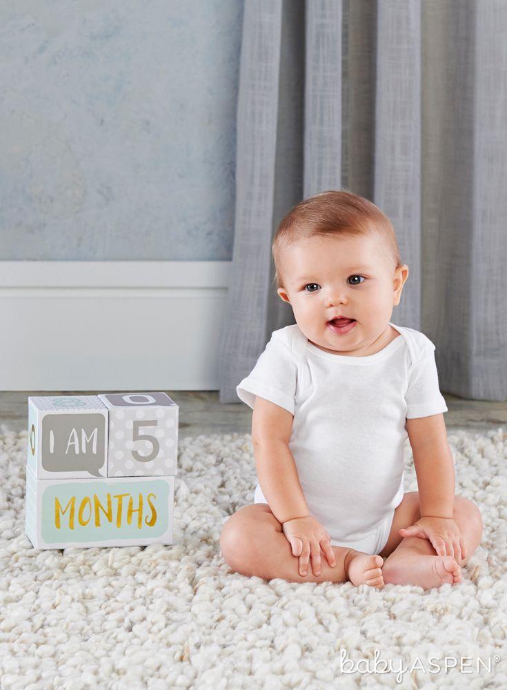 My First Milestone Baby Age Blocks Baby Age Blocks Age Blocks Baby Blocks