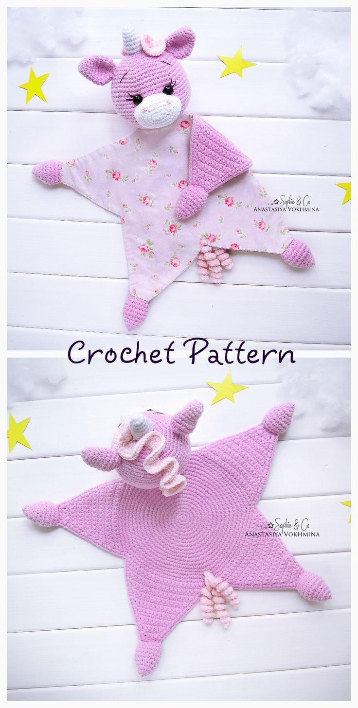 PATTERN Cotton comforter Series 5 | Lovey Pattern | Baby Lovey Toy | Comforter Pattern #crochetsecurityblanket