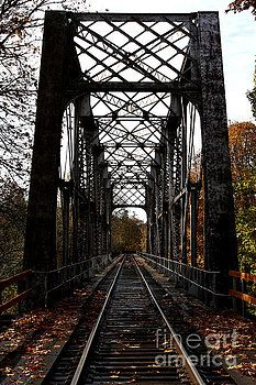 Railroad Bridge by John Langdon