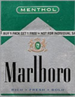 Marlboro green and black