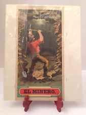 Vintage Rare El Minero Cigars Label Sign Tobacco Tobacciana Miner Prospector NY
