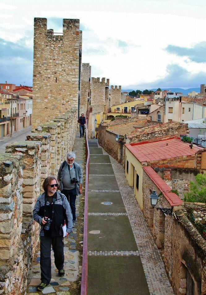 Muralla medieval de Montblanc en Tarragona