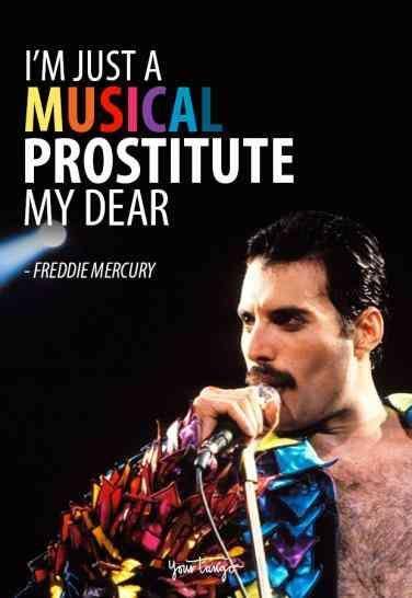 40 Best Freddie Mercury Quotes & Queen Song Lyrics Of All Time #freddiemercury