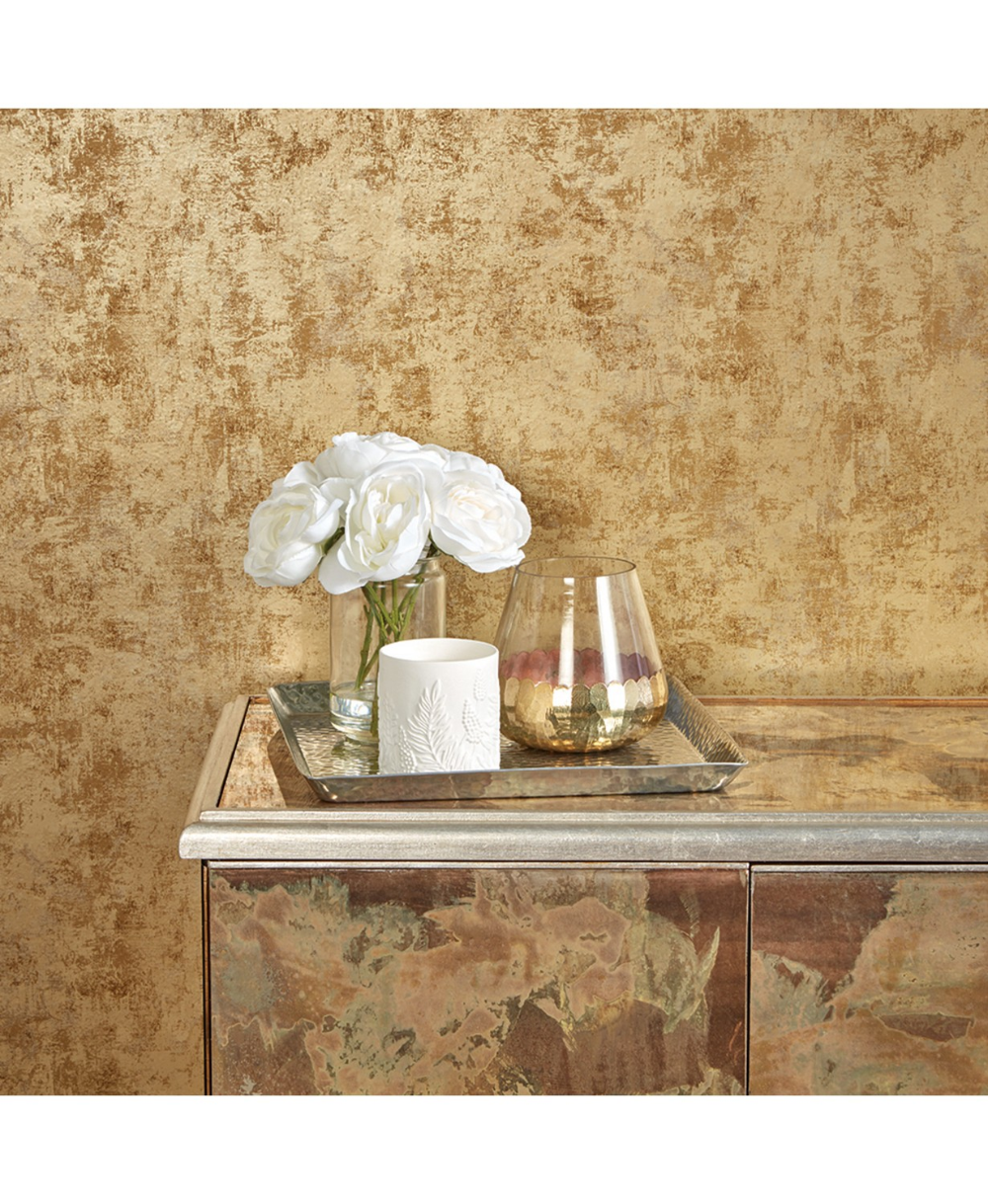 Tempaper Distressed Gold Leaf Self Adhesive Wallpaper Reviews Wallpaper Home Decor Removable Wallpaper Peel And Stick Wallpaper Self Adhesive Wallpaper