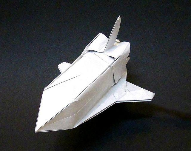 ORIGAMI SPACESHIPS (With Images) Origami, Oragami, Spaceship