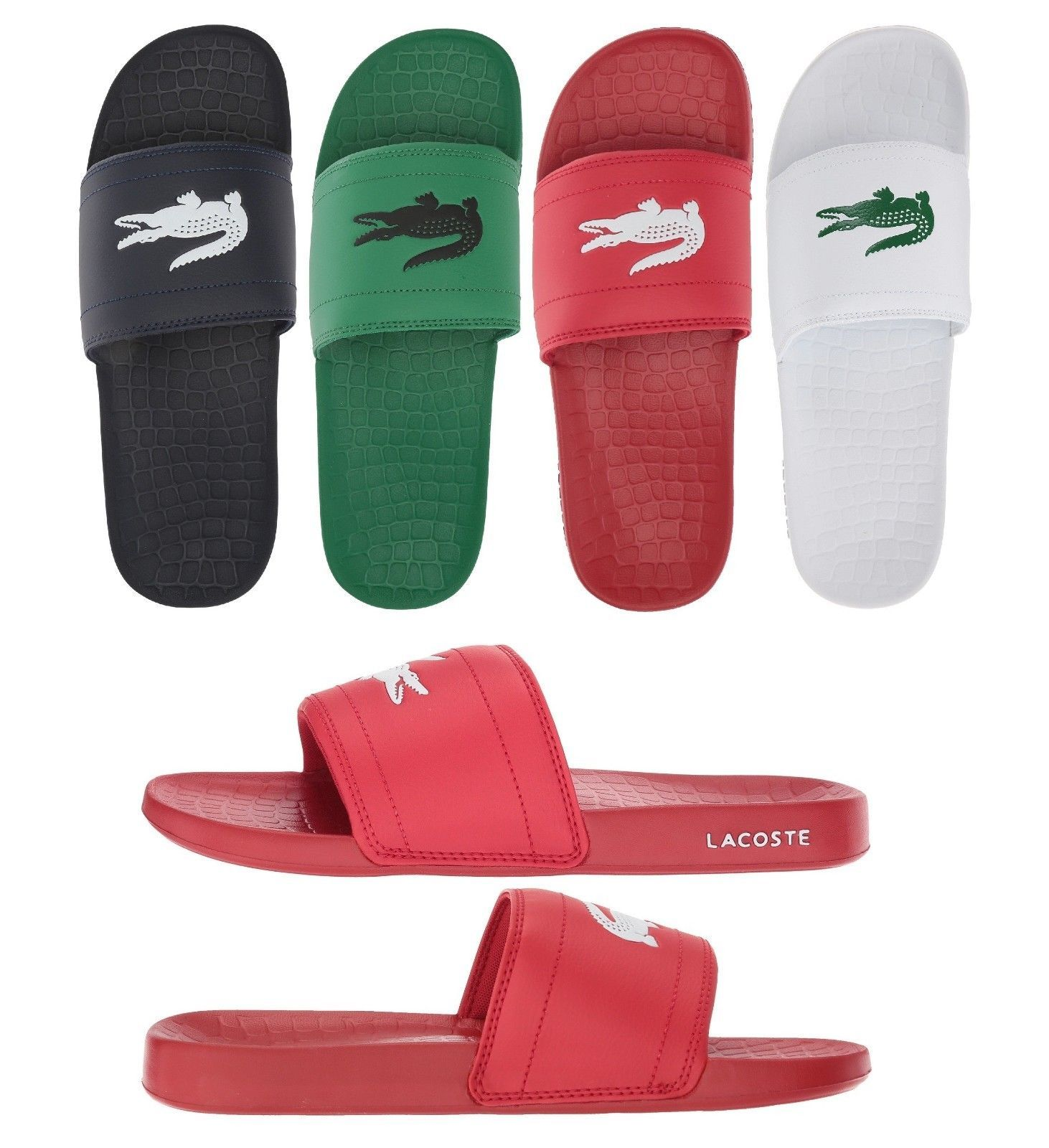 67cc923a Sandals and Flip Flops 11504: New Lacoste Men S Fraisier 118 1 ...