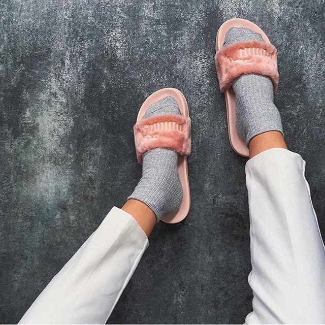 fenty puma slides by rihanna