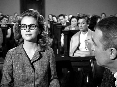 Lee Remick, Eve Arden and James Stewart in Anatomy of a Murder (Otto ...