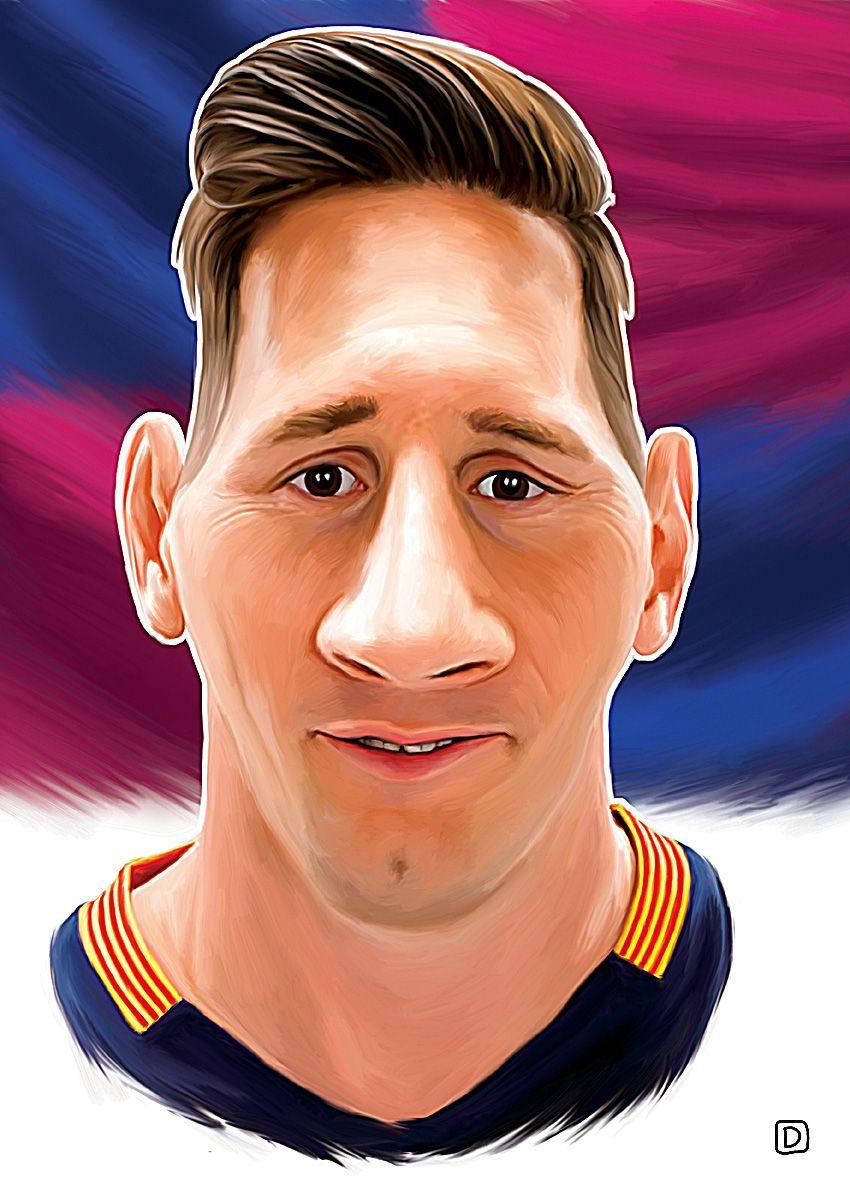 Lionel Messi by Dejan Djurovic