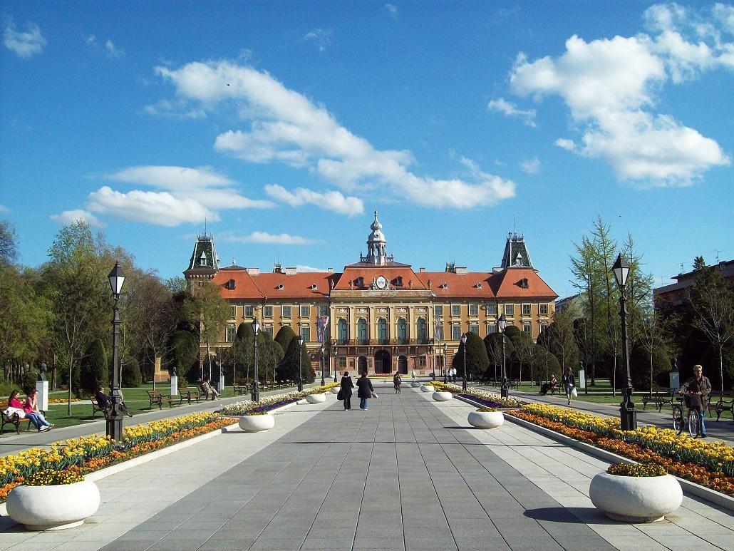 The Prefecture Building Sombor Vojvodina Central Europe Serbia