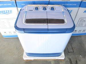manatee small portable washing machine twin tub with spin dry