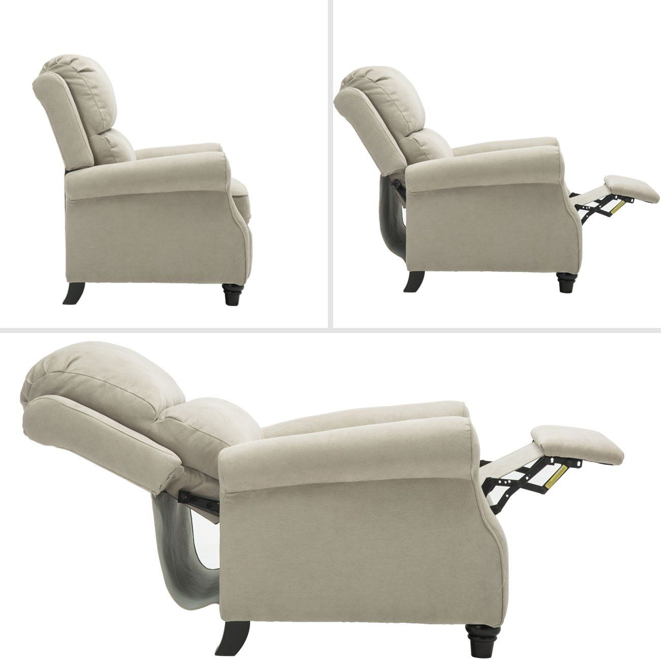 Bonzy Manual Recliner Chair Roll Arm And Pushback Mechanism Recliner Chair Buff Go To The Image Web Link Even M Chair Manual Recliner Chair Recliner Chair