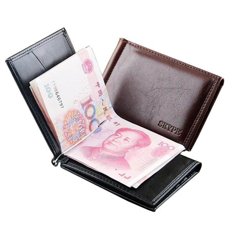 Smart Deals forNew Brand Luxury Business Man money clip wallet with ...
