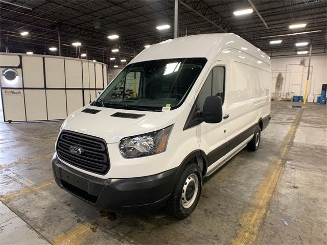 Used 2019 Ford Transit Cargo 350 Extended High Roof Lwb Rwd With