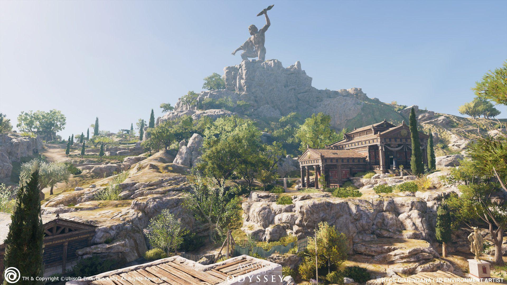 Artstation Kefalonia Island Assassin S Creed Odyssey Jeryce