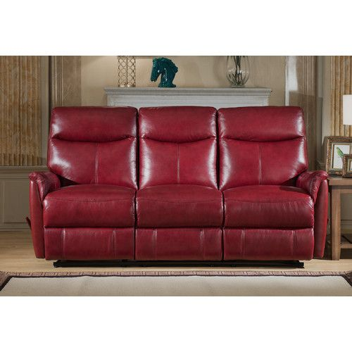 Found It At Wayfair Napa Top Grain Lay Flat Leather Reclining