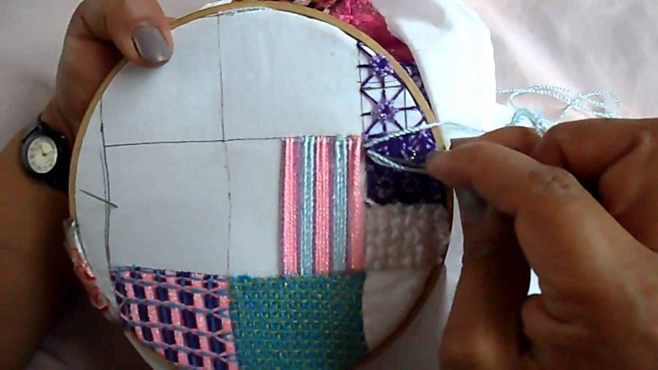Simple plaid weave filling