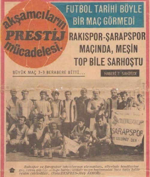 Akşamcıların Prestij Mücadelesi Rakıspor şarapspor Maçı 3 3