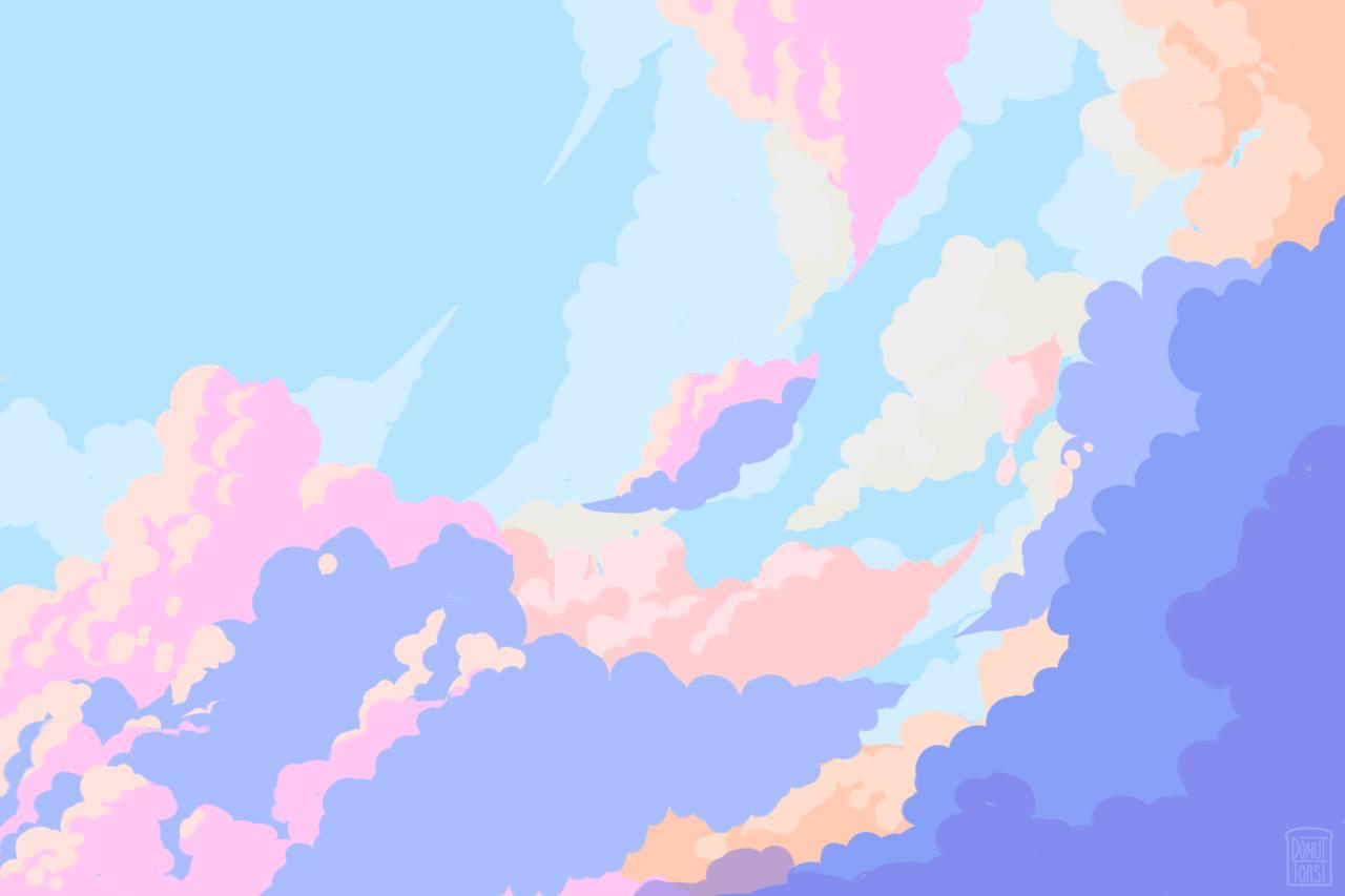 Pastel Tumblr Desktop Wallpaper Art Cute Desktop Wallpaper Aesthetic Desktop Wallpaper