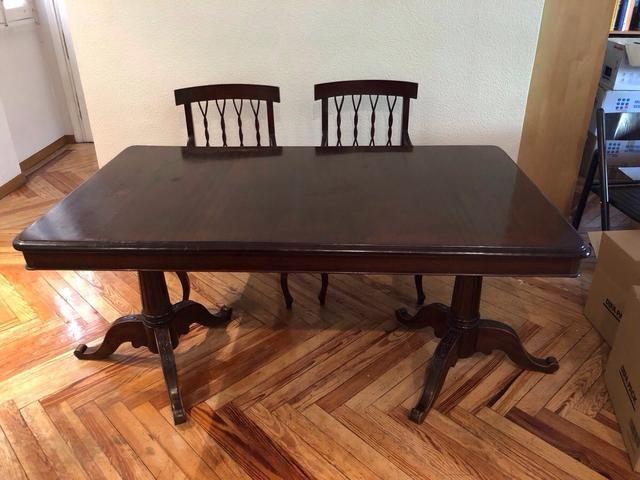 Mesa comedor antigua de madera de segunda mano por 260 € en ...