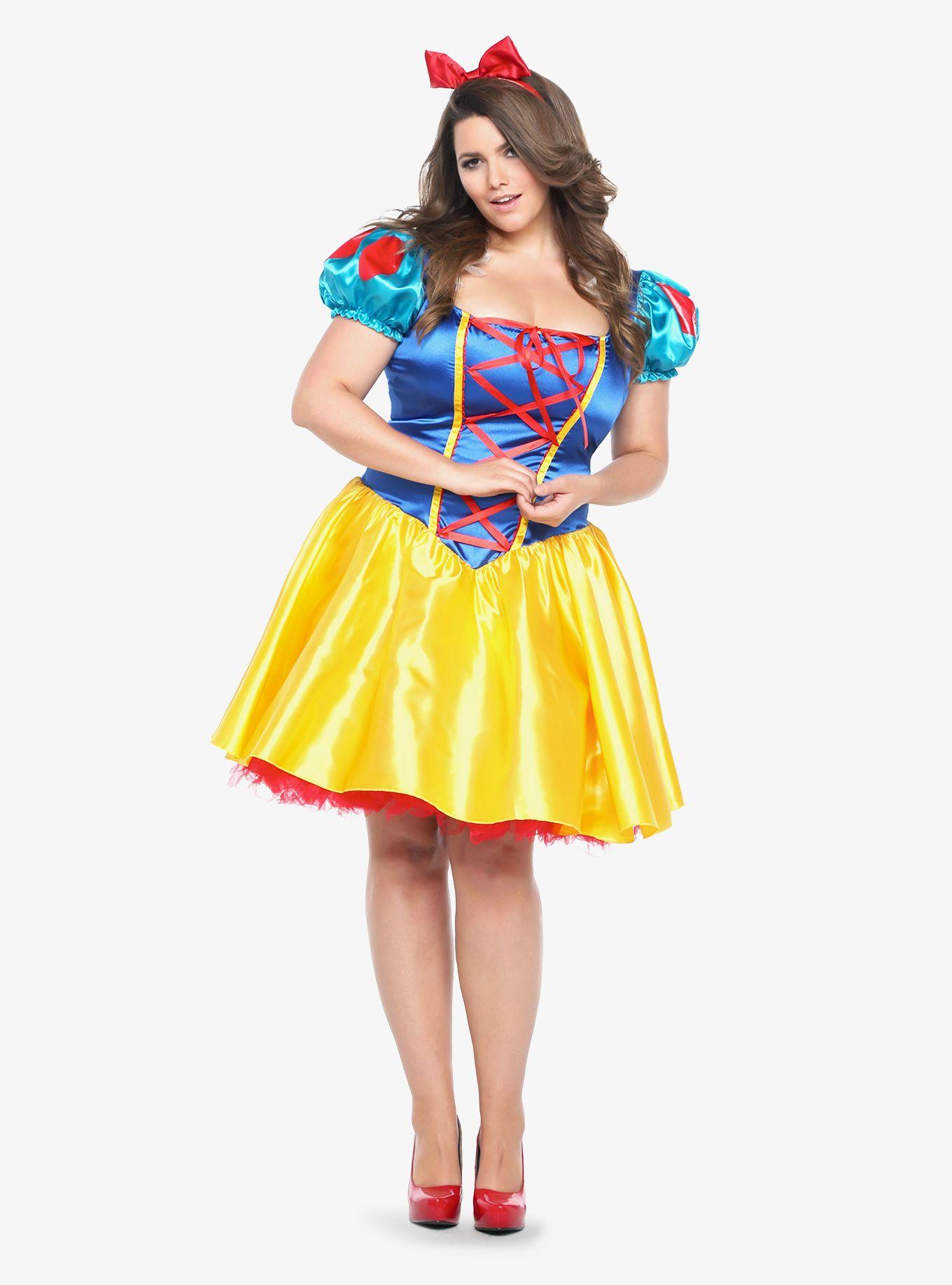 leg avenue - disney classic snow white costume dress | torrid