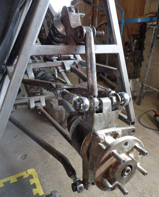 Locost Push Rod Rear Suspension