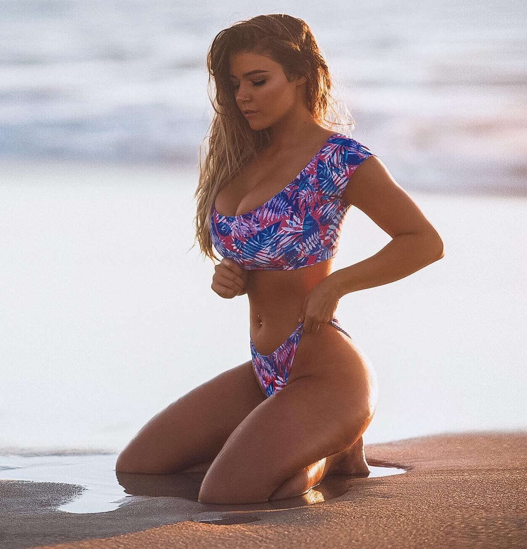 Innocent girl in a bikini #11