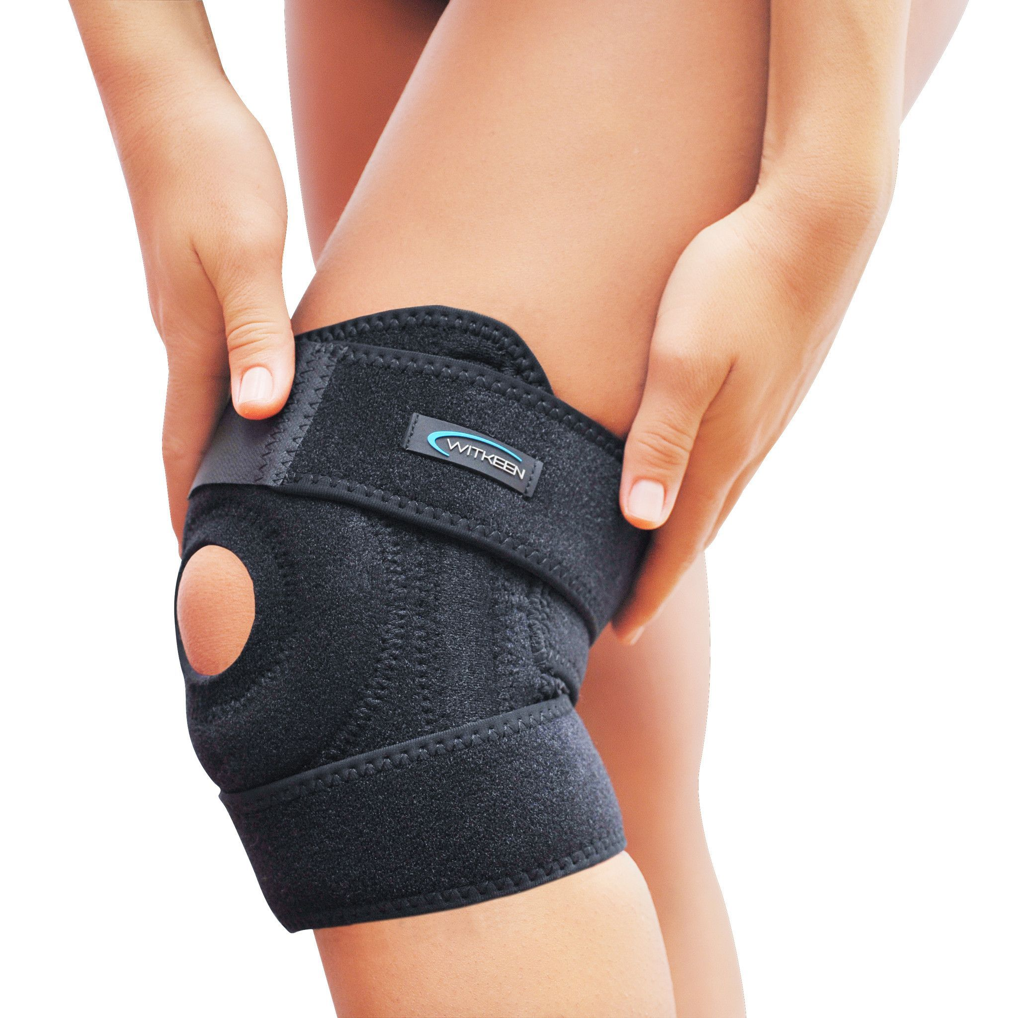 WITKEEN Knee Brace for Meniscus Tear, ACL, Arthritis Pain Relief ...