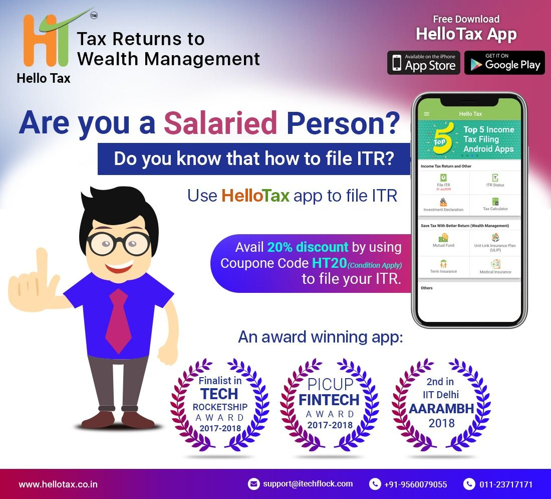 Are you a salaried person tax app wealth management