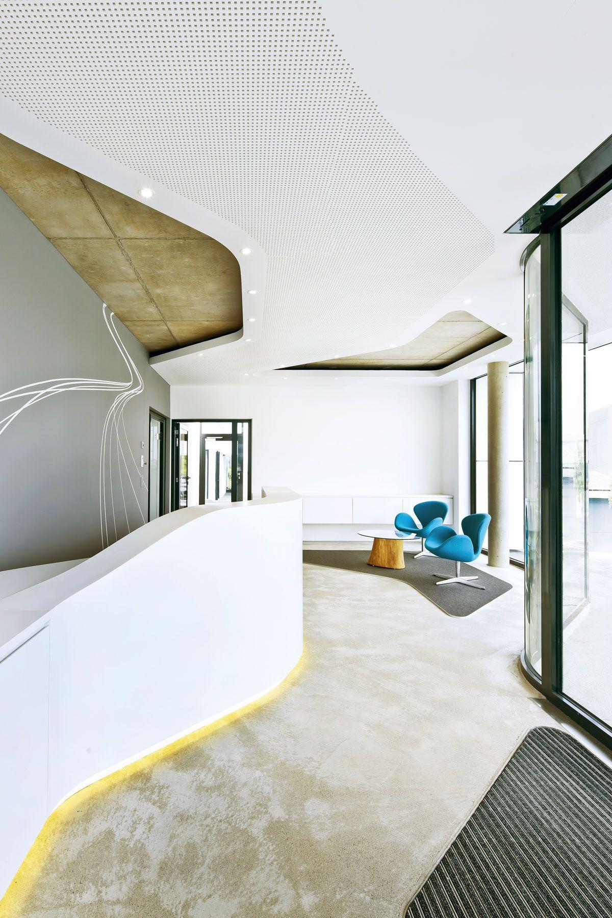 Isdb burogebaude friedrichshafen buero office interiors architecture design retail architects also in rh pinterest