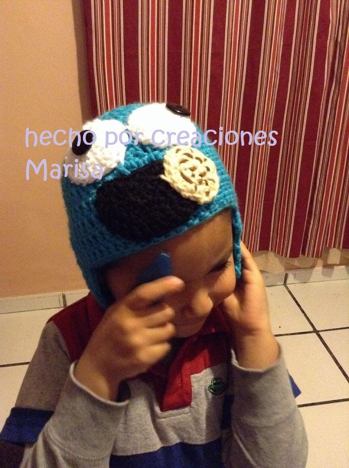 come galletas gorro crochet  f88e4861c8a