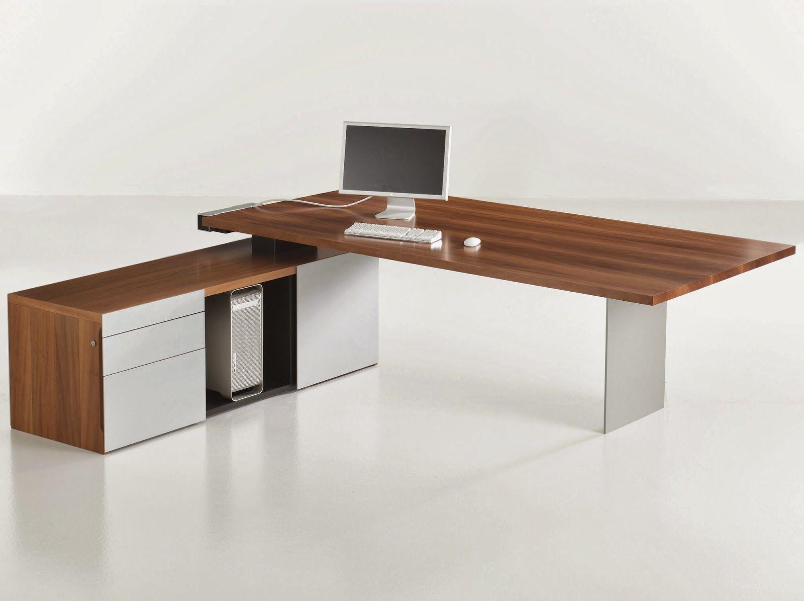 Escritorios modernos buscar con google escritorios for Diseno de muebles de oficina modernos