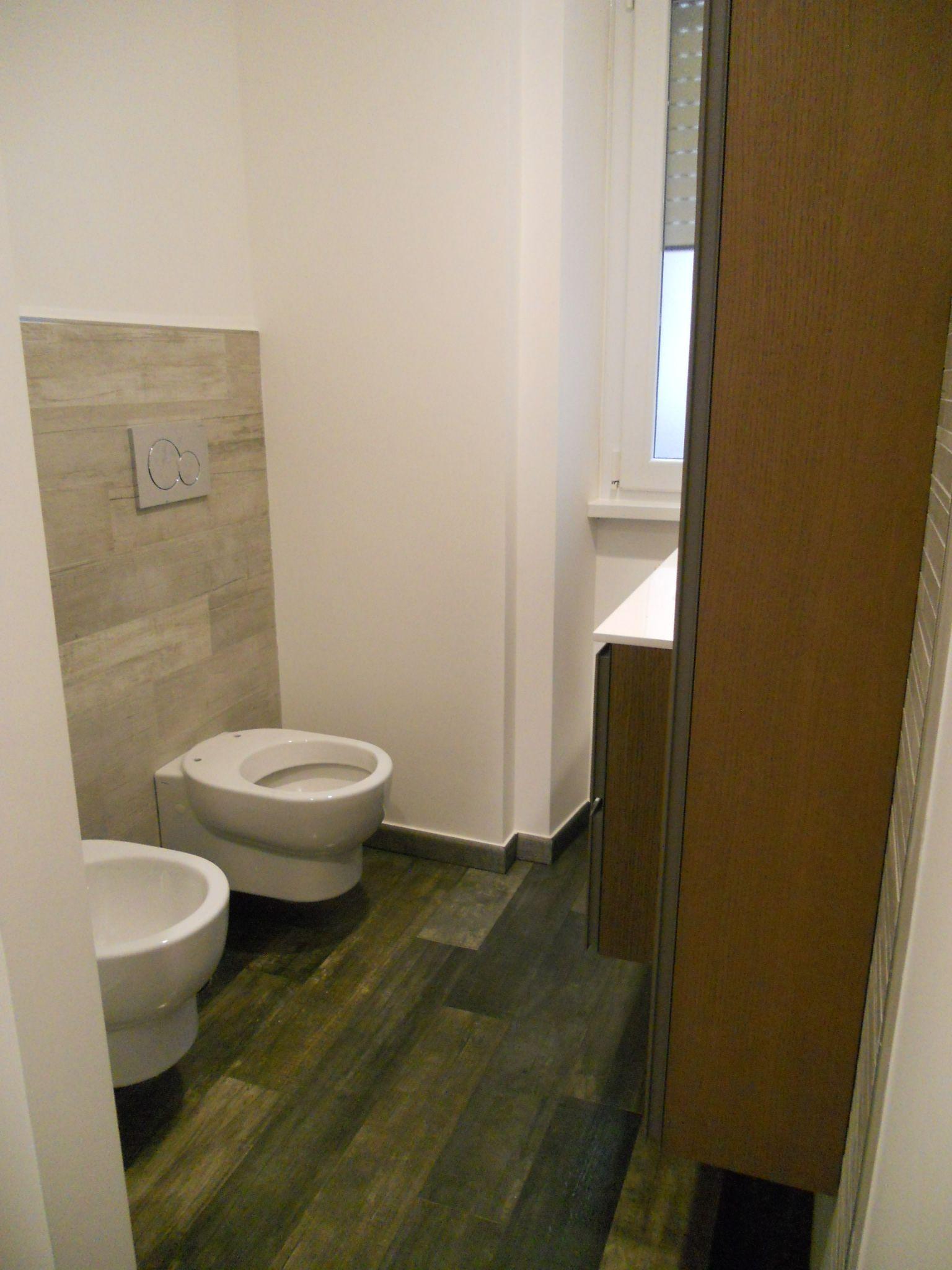 Nel secondo bagno si è scelto di non mettere la doccia a vantaggio ...