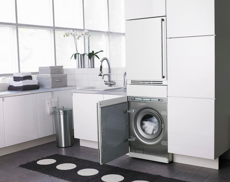 The Asko W6984fi Integrated Washing Machine And Dryer