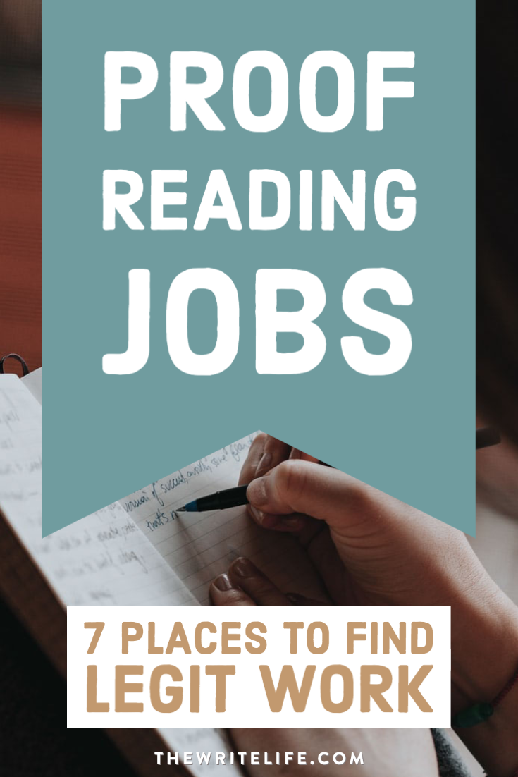 Get Paid To Hunt For Spelling And Grammar Errors 7 Places To Find Proofreading Jobs Proofreading Jobs Reading Jobs Writing Prompts For Writers
