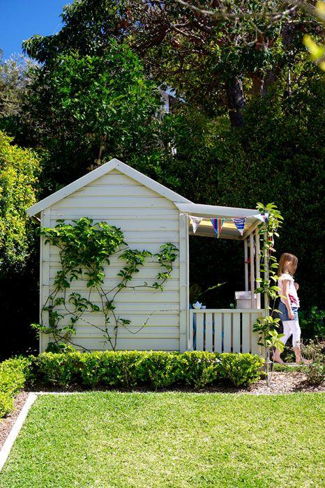Landscape design Woollahra love this cubby Ideas for Kids - casitas de jardin para nios