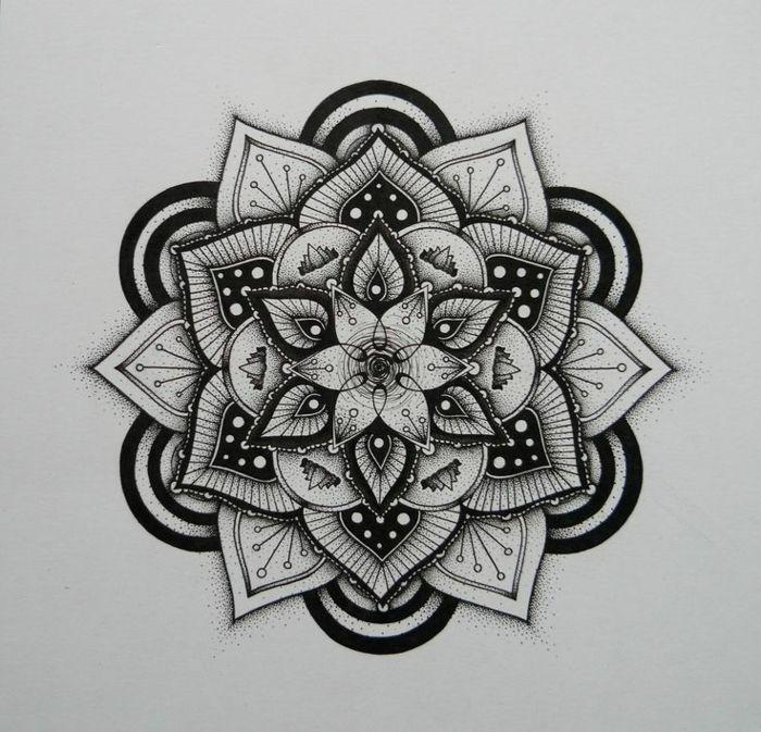 1001 Idees Et Techniques Pour Faire Un Mandala Designs De Tatouages Tatouage Tatouage Au Henne