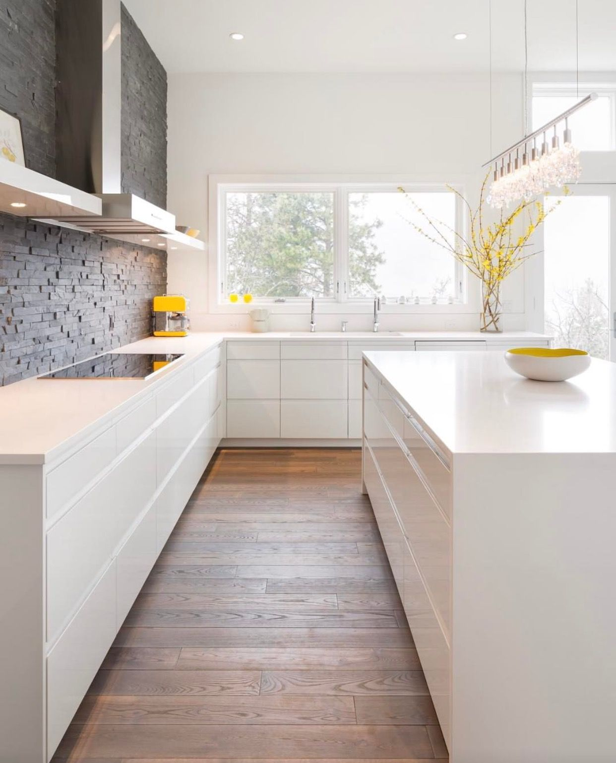 Simple moderna blanca | Kitchen | Pinterest | Moderno y Blanco