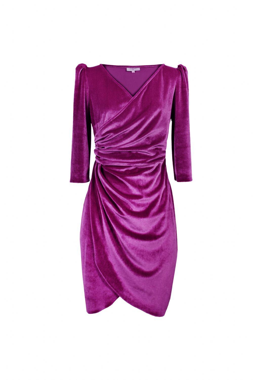 Los vestidos de terciopelo, el must have de la temporada | Vestido ...