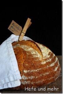 Kartoffel-Möhren-Brot / Potato carrot bread