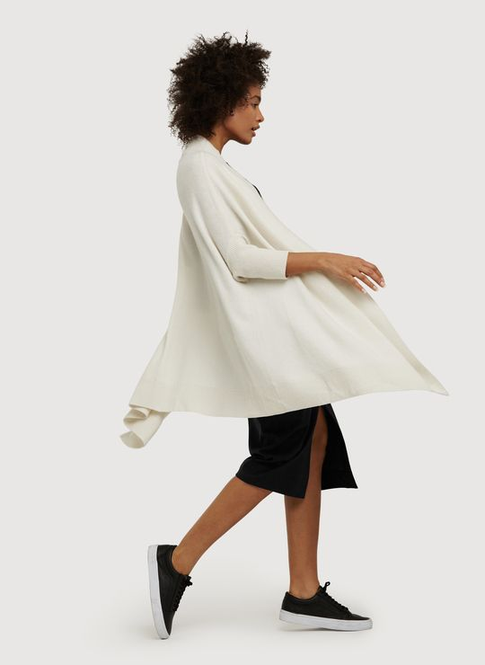 A BLANKET FOR PUBLIC USE. Wear this for travel. Made from cashmere and wool…