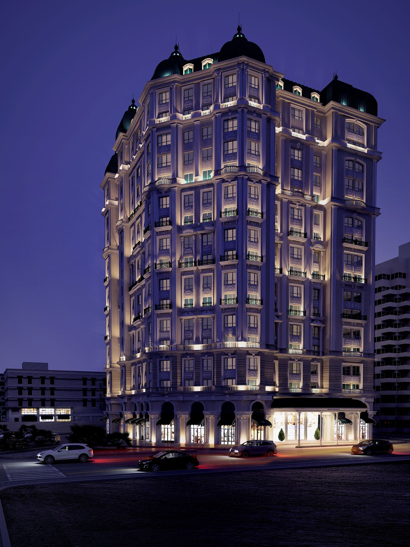 Jeddah Hotel on Behance