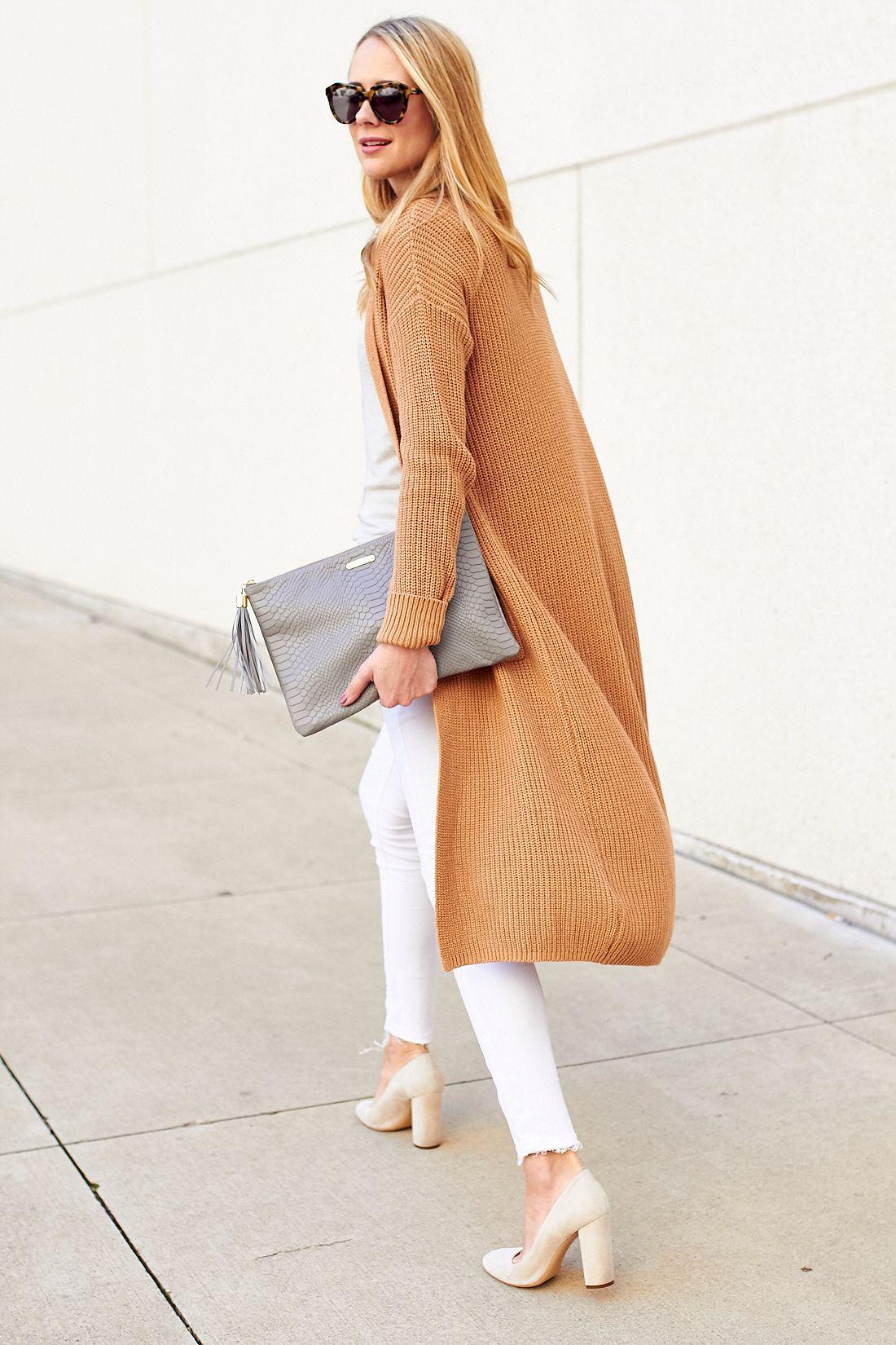 fashion-jackson-camel-long-cardigan-gigi-new-york-uber-clutch ...