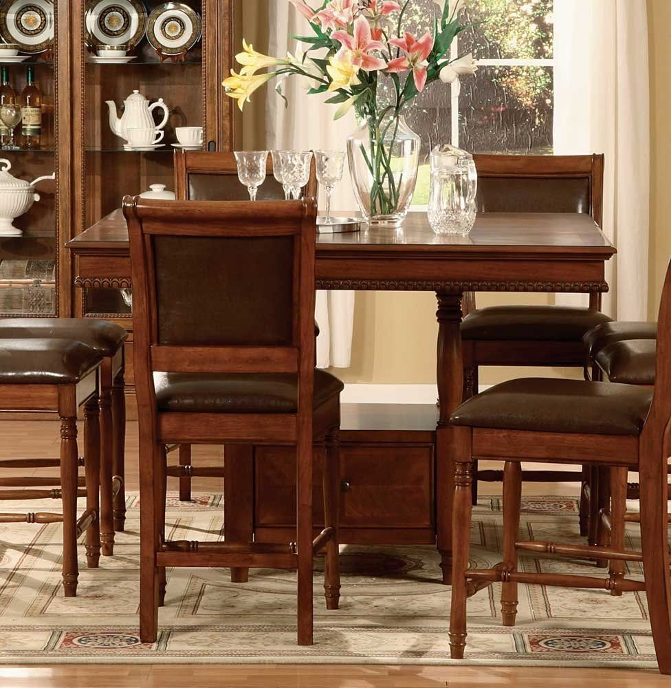 This counter height gathering table is perfect for entertaining #WFwishlist this would work in our dining room