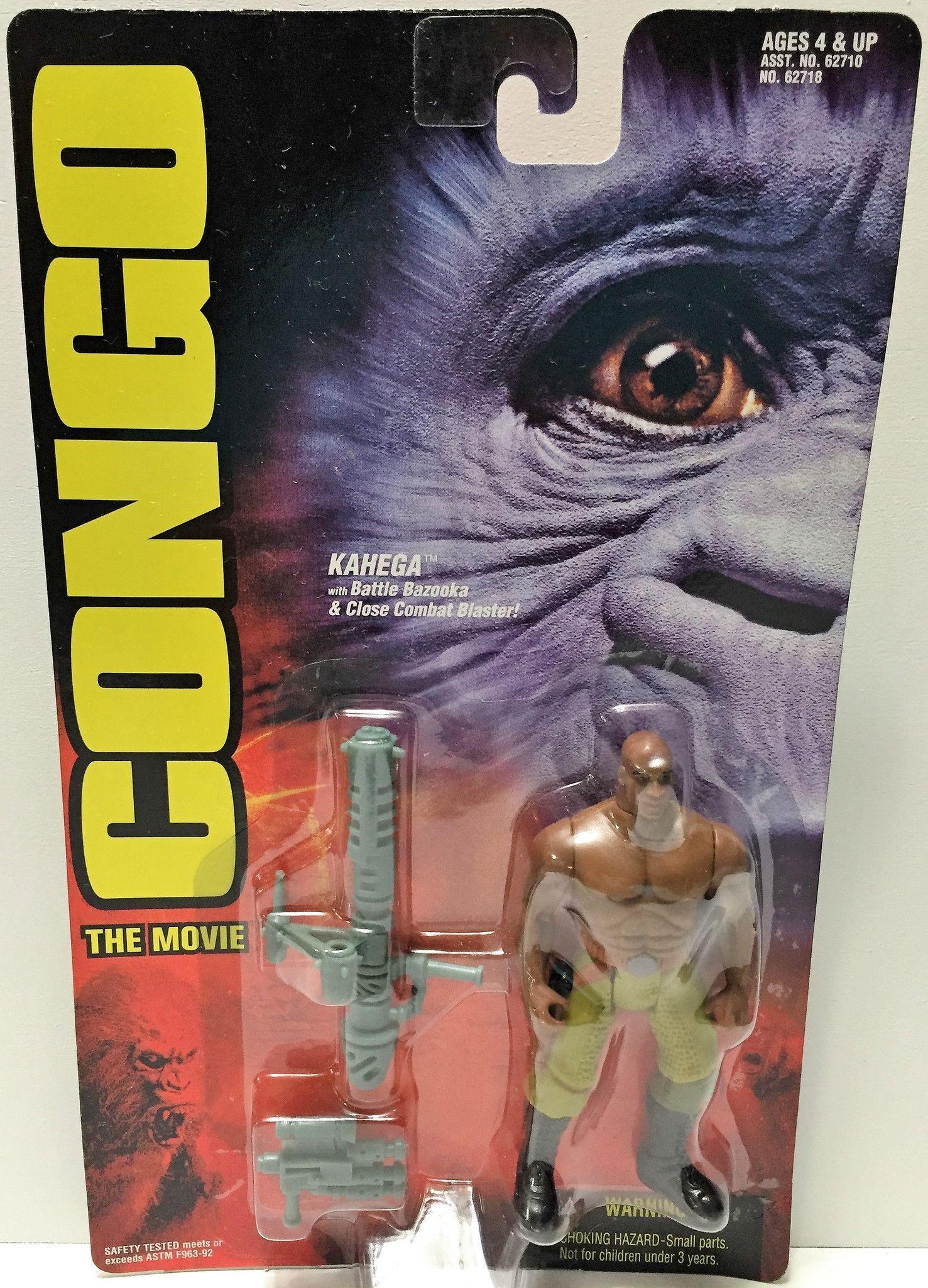 Tas034181 1995 kenner congo the movie collectible