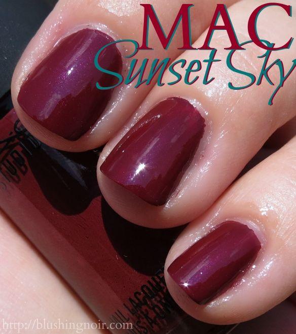 MAC A Novel Romance Nail Polish Swatches | Nails | Pinterest ...
