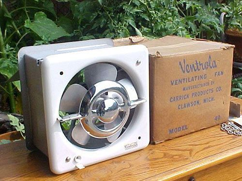 Remodel Bathroom Vent Fan beautiful ventrola kitchen exhaust fan - nos woddity | kitchen