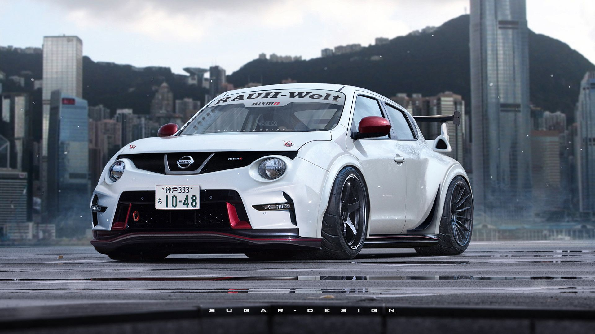 artstation nissan juke gtr nismo rwb edition sugar chow carz virtual tuning pinterest. Black Bedroom Furniture Sets. Home Design Ideas